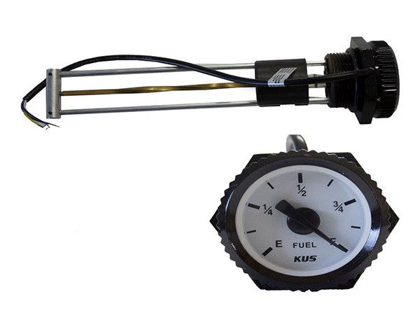 MGS - 200 Mechanical Fual Gauge with Sensor Alarm - 200MM