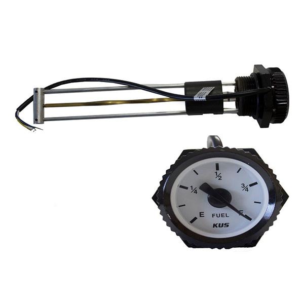 MGS - 200 Mechanical Fual Gauge with Sensor Alarm - 200MM