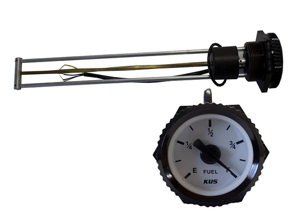 MGS - 350 Mechanical Fuel Gauge with Sensor Alarm - 350MM